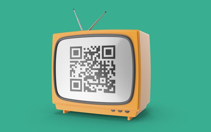 QR Code na Televisão
